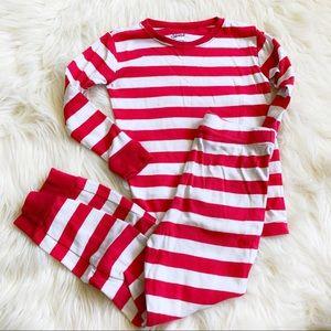 ✨Levert✨Boys/Girls 6✨2pc Snug Stripe Pajamas